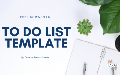 To Do's List Template: Free Download