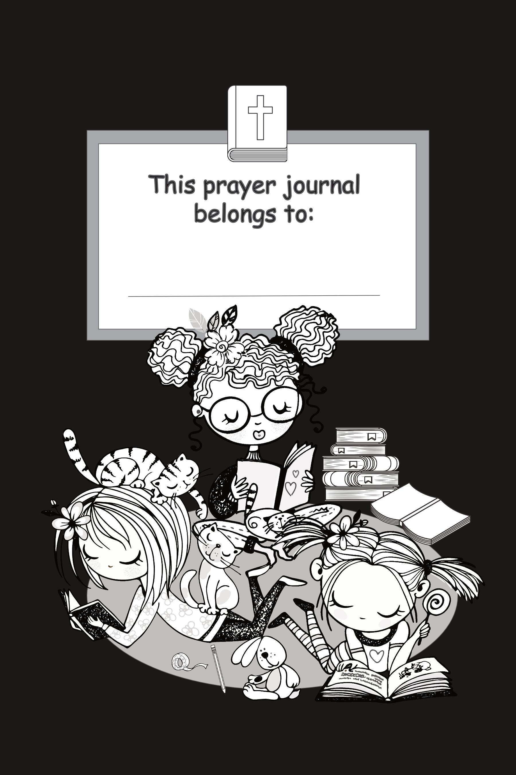 prayer journal for girls dedication page
