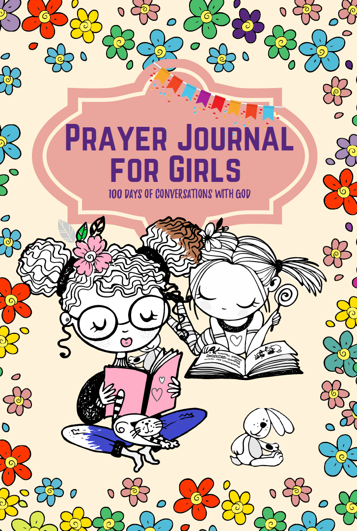 prayer notebook for girls