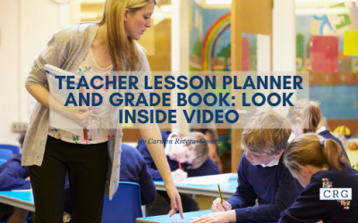 Teacher Lesson Plan and Grade Book Video