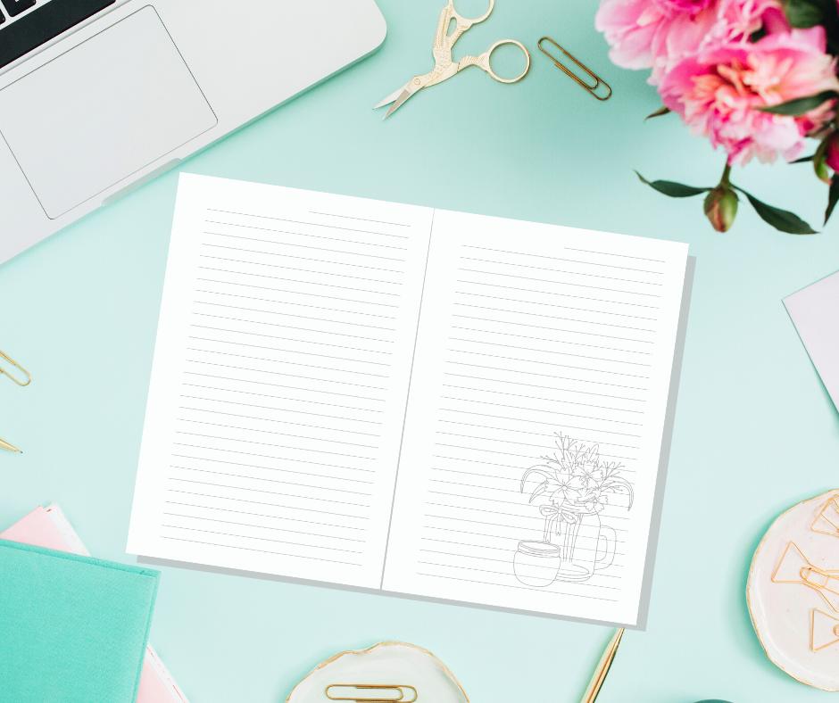 journal for women gardening
