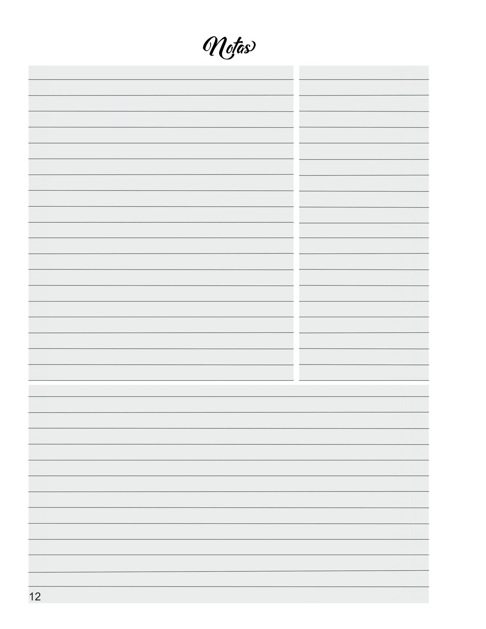 libreta de anotaciones para maestros